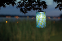 Soji LED Solar Lantern - Lime Leaf Limited Edition