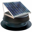 Solar Attic Fan - 30 Watts - 2500 sq ft - Black