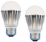 8 Watt Dimmable LED - 450 lumens - 40 Watt Replacement -  Value Pack of 2