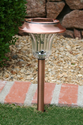 Solar Pathway Garden Light - Copper