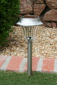 Solar Pathway Garden Light - Stainless Steel