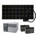 1800 Watt Solar Generator Complete with (2) 100 AH Batteries & 160 Watts of Solar - For Homes, Cabins and More!