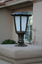 Solar Pillar Light - Warm White - 90 Lumens