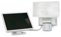 MAXSA 50 LED Solar Security Light - Motion-Activated Light