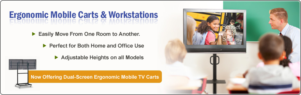 Ergonomic Mobile Carts & Workstations