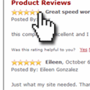 Customer Reviews for your Yahoo Store