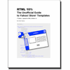 RTML 101: The Unofficial Guide To Yahoo! Store Templates (eBook)