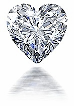 2.5 ct. 9mm Heart Cubic Zirconia Loose Stone By Ziamond