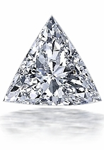 3/8 (.38) ct. 4.5mm Trillion Triangle Ziamond Cubic Zirconia Loose Stone