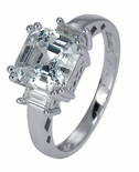 The Ava Asscher Inspired Ring