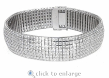 Vendome Bracelet Featuring Ziamond Cubic Zirconia