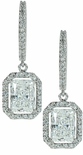 LaRue Radiant Emerald Drop Earrings