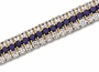 Vanni Three Row Demi Cuff Bracelet Featuring Ziamond Cubic Zirconia