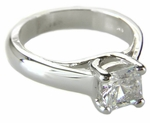 Ziamond Princess Cut  Luccia Solitaires