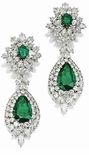 Anastasia Cluster Drop Earrings