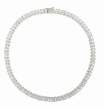 Parisian Emerald Cut Necklace