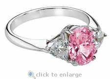 Legally Blonde 2 Style Ring 1 ct. Center
