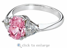 Legally Blonde 2 Style Ring 2.5 ct. Center