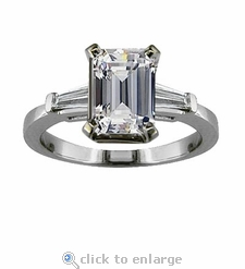 Sex And The City Charlotte 2.5 ct. Center