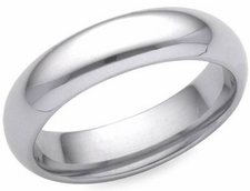 Men's PLATINUM Comfort Fit Wedding Bands