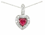 Jourdain Heart Pendant