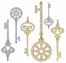 Ziamond Key Pendants