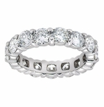 Cubic Zirconia Eternity Bands