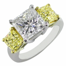 Three Stone Classic Cubic Zirconia Rings