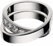 Infinity Pave Cubic Zirconia Unisex Wedding Band