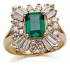 Emerald Cut Ballerina