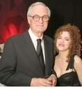 Alan Alda and Bernadette Peters