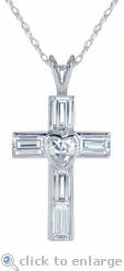 The Lovisa Cross Pendant