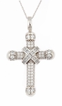 The Dijon Cross Pendant