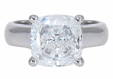 Ziamond Cushion Cut Luccia Solitaires