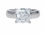 1.5 ct Cushion Luccia Solitaire