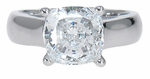 4 ct. Cushion Luccia Solitaire