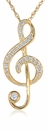 The Treble Clef Note Pendant