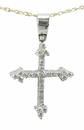 Fleuri Cross Pendant
