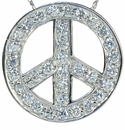 Sliding Peace Pendant