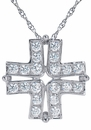 The Evangeline Cross Pendant