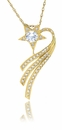 The Shooting Star Pendant by Ziamond