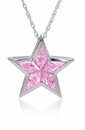 Ziamond Superstar Pendant in Pink