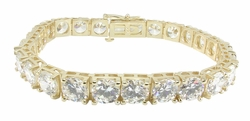 Tennis Bracelet Galore Featuring Ziamond Cubic Zirconia