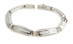 The Linkage Bracelet Featuring Ziamond Cubic Zirconia