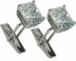 Classic Emerald Cut Cufflinks