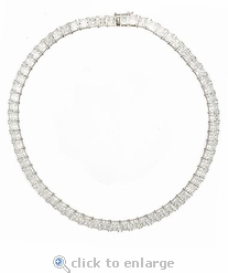 The Parisian Princess Cut Necklace