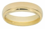 Men's Gold Comfort Fit Bands