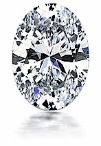1.5 ct. 9x7 mm Oval Cubic Zirconia Loose Stone