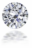 3 ct. 9.5mm Round Cubic Zirconia Loose Stone