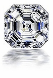 4 ct. 9x9mm Asscher Cut  Cubic Zirconia Loose Stone